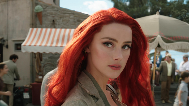 Amber Heard in Aquaman