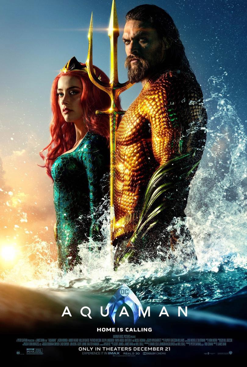 Aquaman mit Amber Heard und Jason Momoa