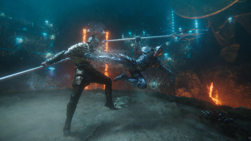 Kämpfe in Aquaman - Kritik