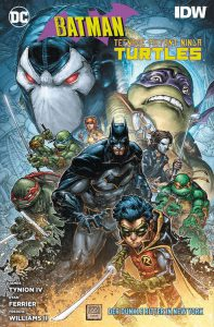 Batman und Teenage Mutant Ninja Turtles - Der dunkle Ritter in New York Comic Rezension Review Kritik