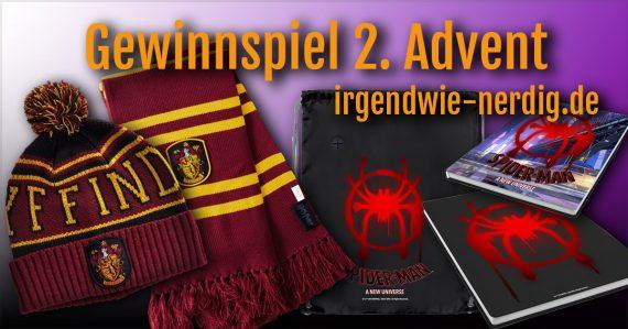 Gewinnspiel irgendwie nerdig Weihnachten Advent Elbenwald Spider-Man
