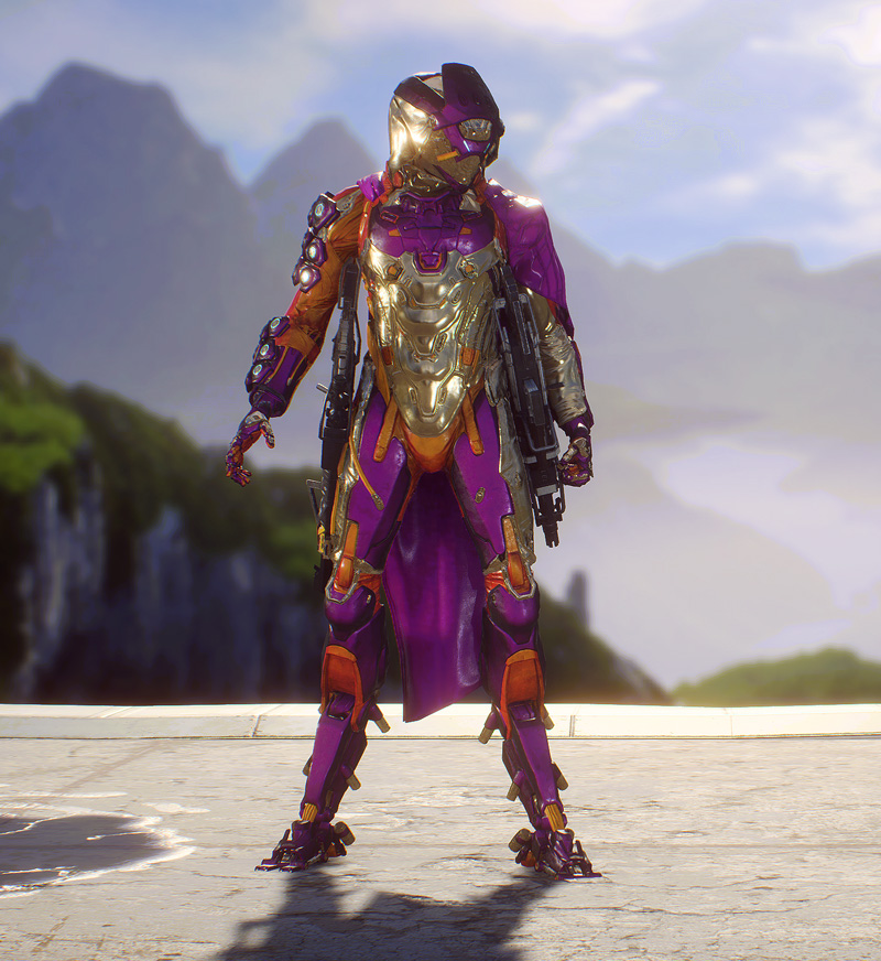Mein gestalteter Storm Javelin in Anthem
