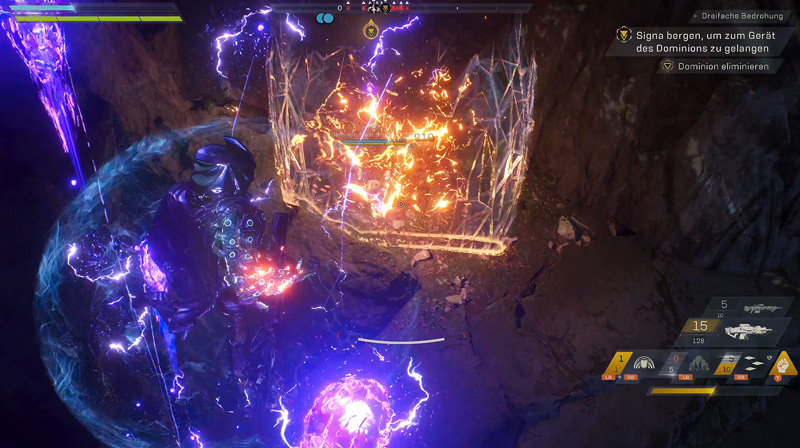 Anthem Action RPG Gameplay Screenshot Storm