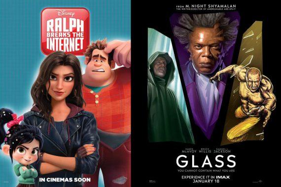 Filmkritik zu Glass und Chaos im Netz
