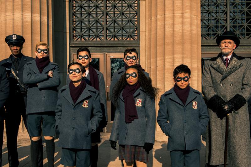 The Umbrella Academy Kritik Serienempfehlung auf Netflix