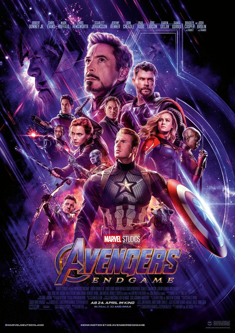 Avengers Endgame Kritik Poster