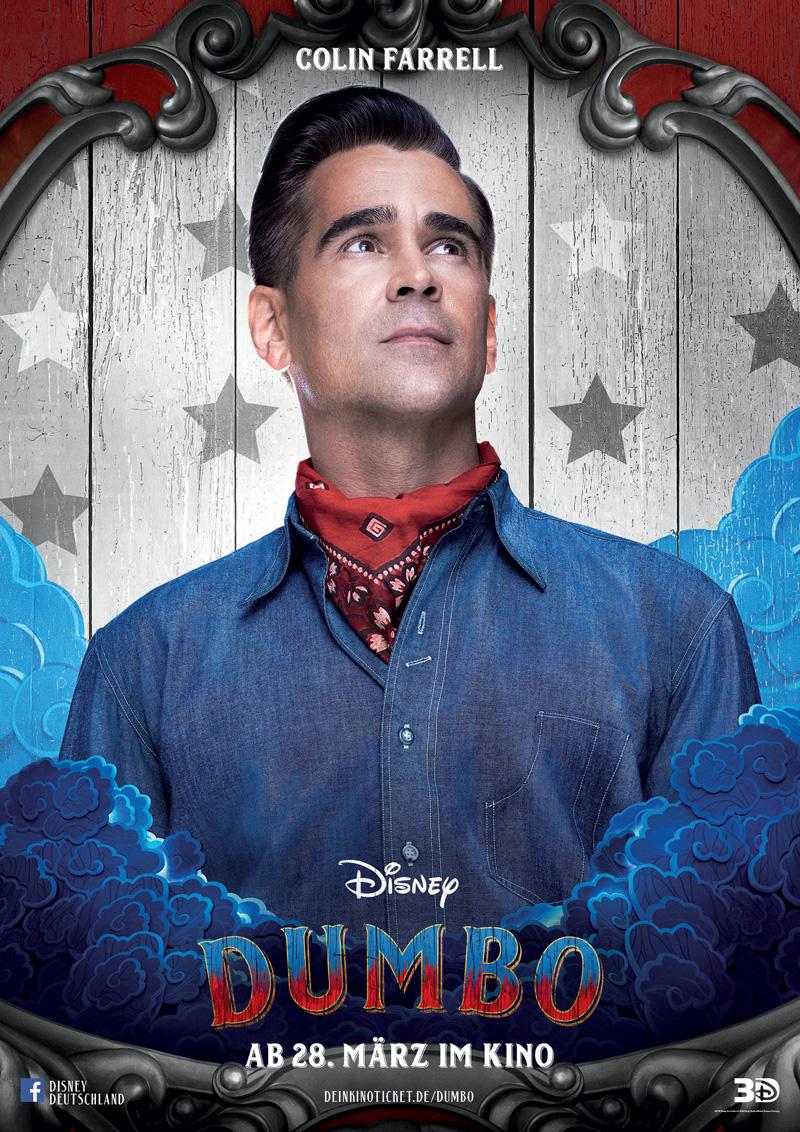 Dumbo Kritik Irgendwie nerdig mit Colin Farrell