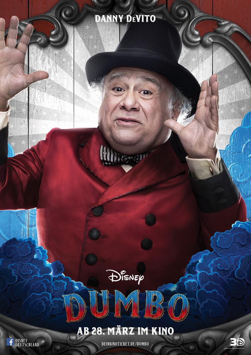 Dumbo Kritik Irgendwie nerdig mit Danny DeVito
