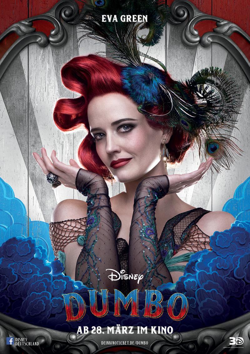 Dumbo Kritik Irgendwie nerdig mit Eva Green