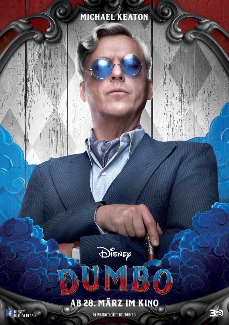 Dumbo Kritik Irgendwie nerdig mit Michael Keaton