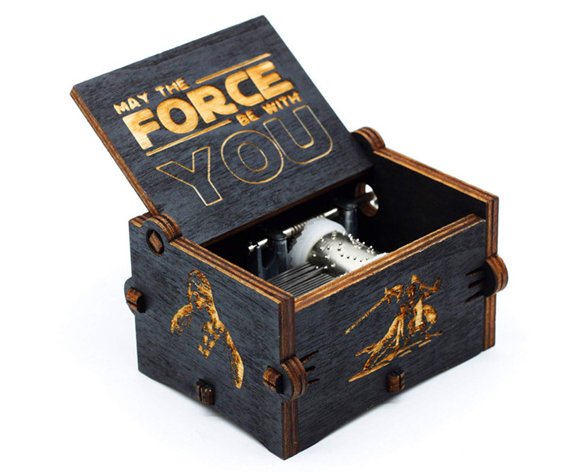 Top 10 nerdige Ostergeschenke - Star Wars Theme Spieluhr