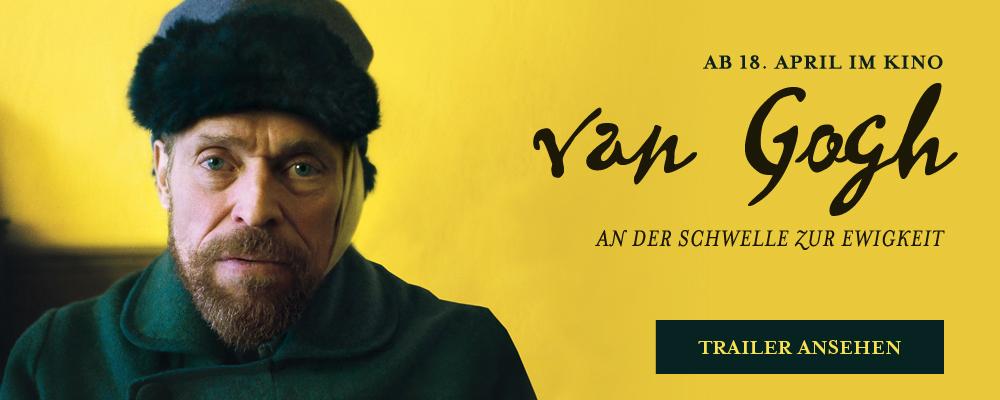Van Gogh - An der Schwelle zur Ewigkeit mit Willem Dafoe und Oscar Isaac