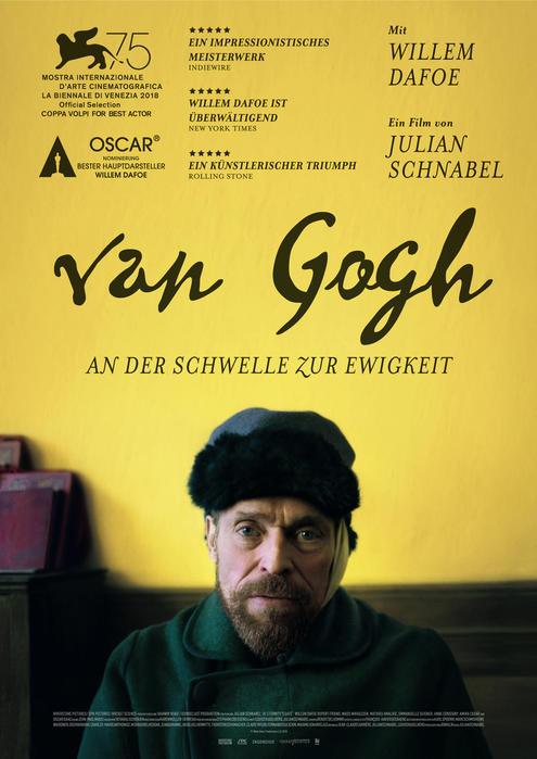 Van Gogh - An der Schwelle der Ewigkeit mit Willem Dafoe und Oscar Isaac