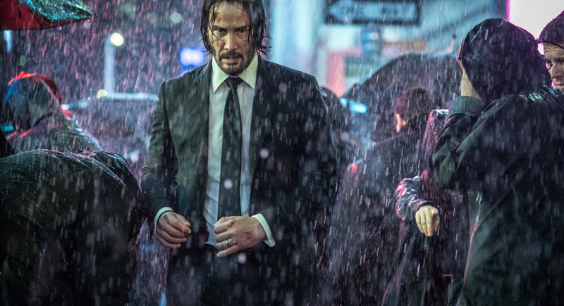 Keanu Reeves in John Wick 3 - Kritik