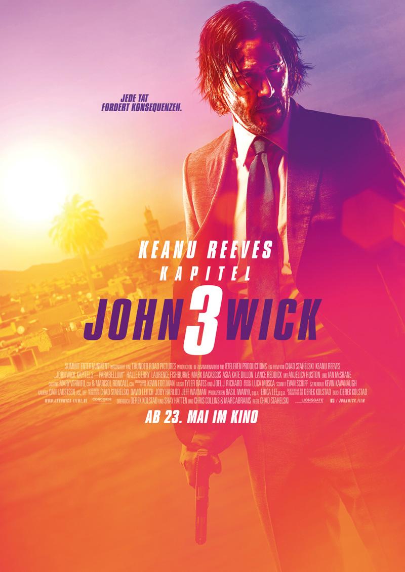John Wick 3 Keanu Reeves Poster Kritik