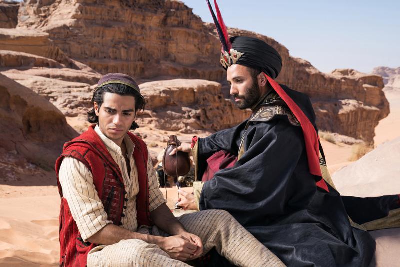 Aladdin Kritik 2019 mit Mena Massoud und Marwan Kenzari