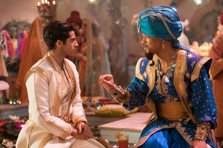 Aladdin Kritik 2019 mit Mena Massoud und Will Smith als Dschinni