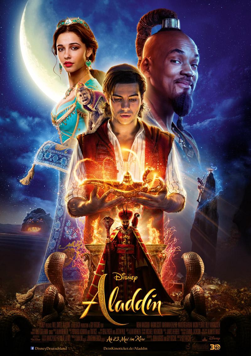 Aladdin Kritik 2019 Poster