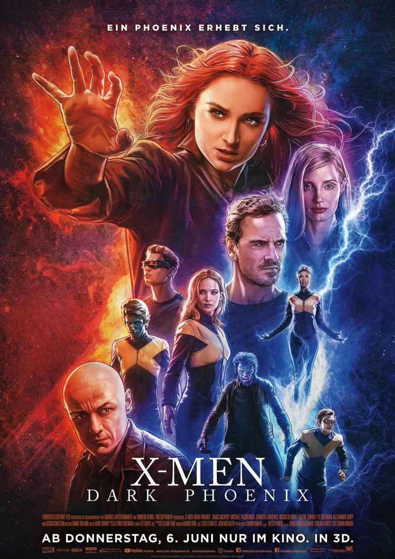 Dark Phoenix Kritik Poster irgendwie nerdig