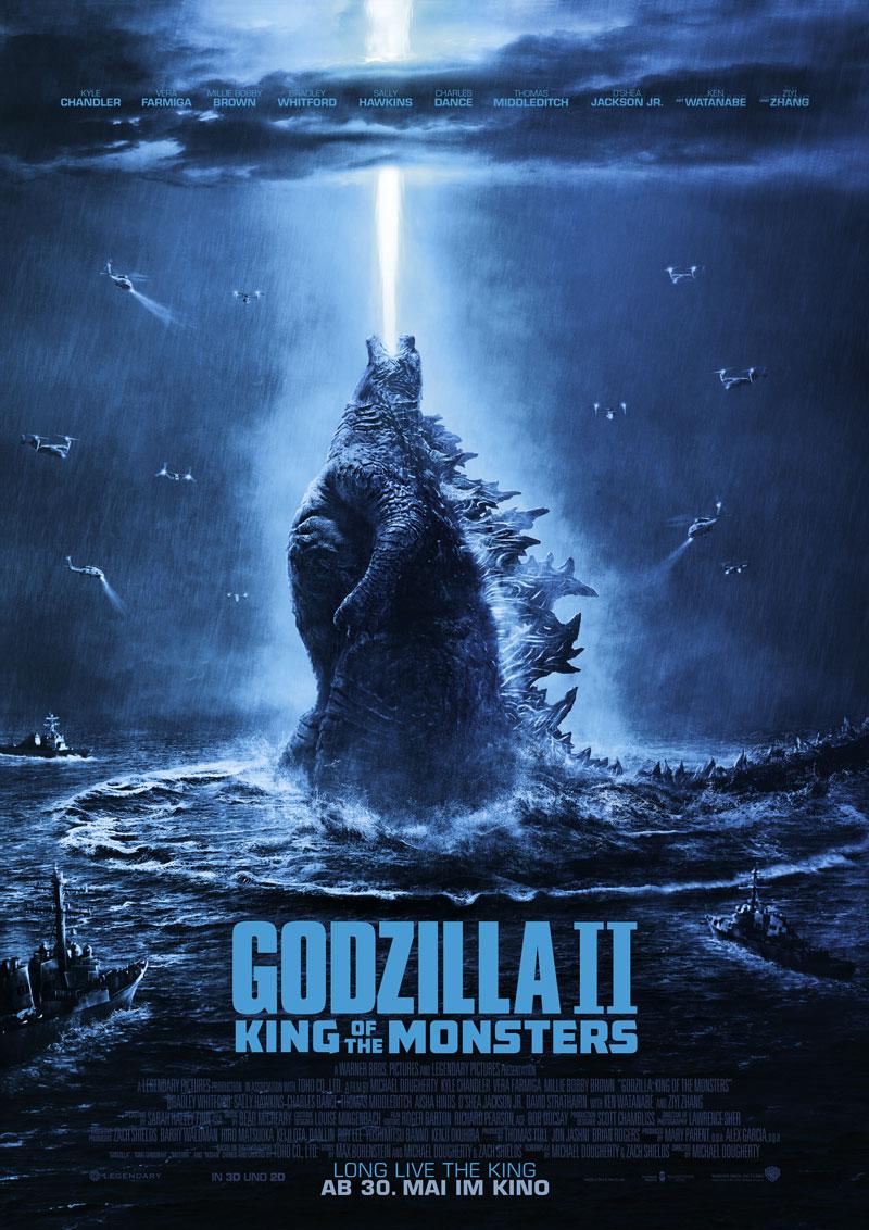 Godzilla 2 Kritik Poster irgendwie nerdig