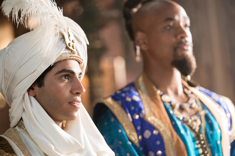 Aladdin Kritik 2019 mit Mena Massoud und Will Smith
