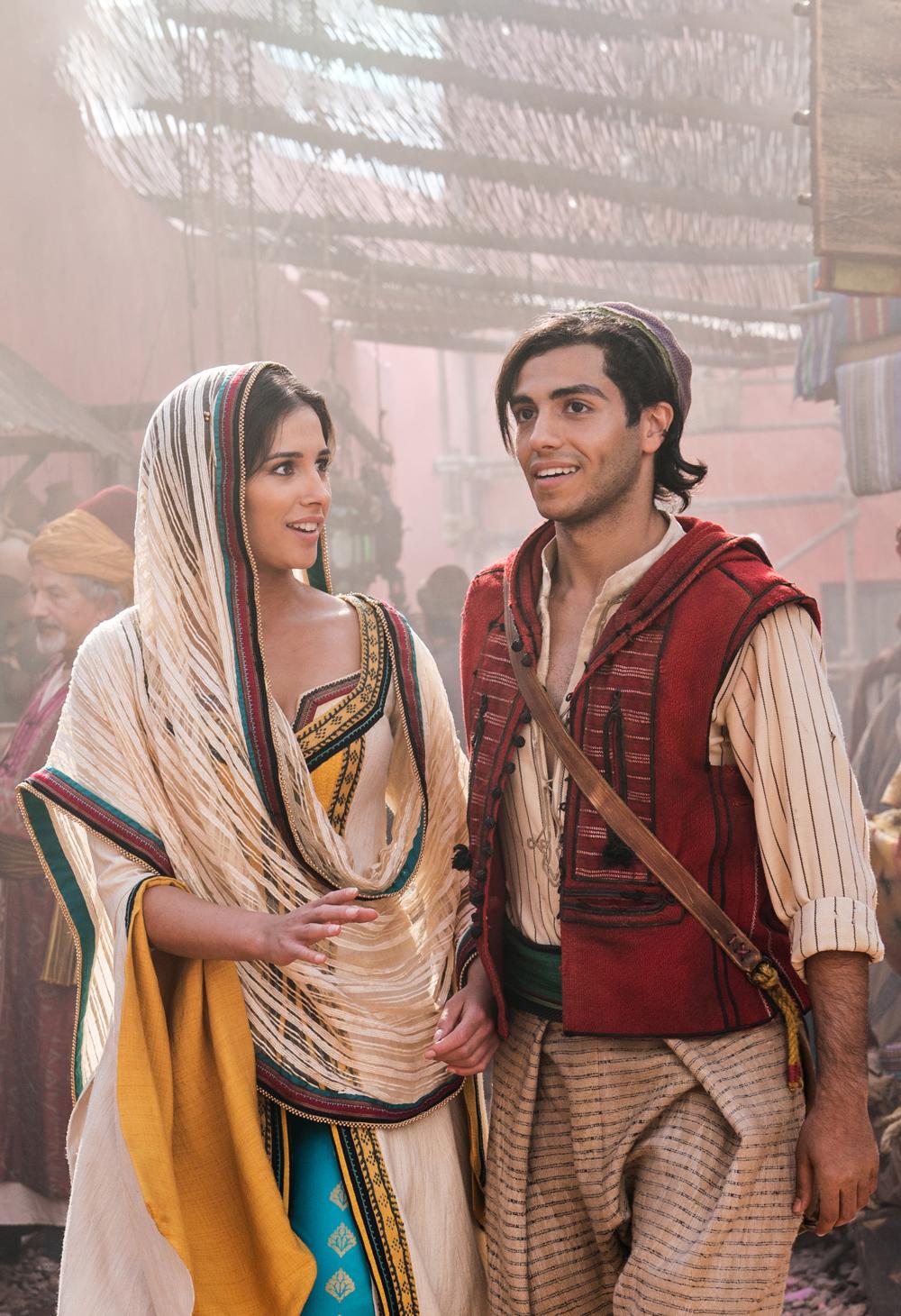 Aladdin Kritik 2019 mit Naomi Scott und Mena Massoud