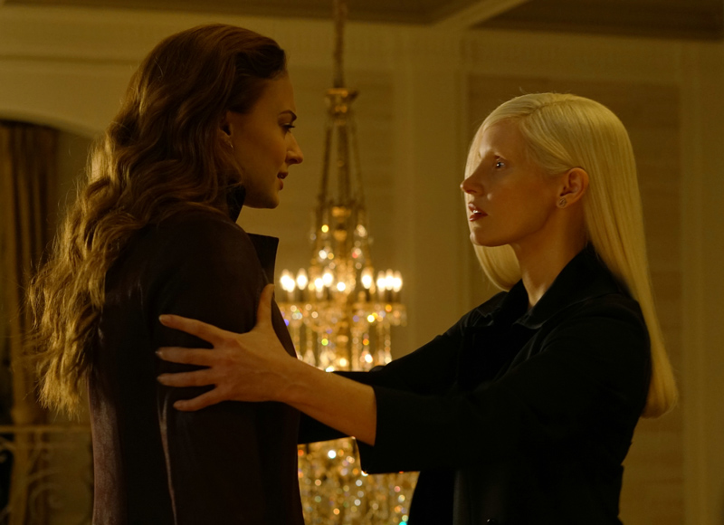 Dark Phoenix Kritik mit Sophie Turner und Jessica Chastain