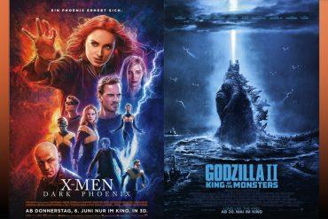 Thumbnail Dark Phoenix und Godzilla II Kritik
