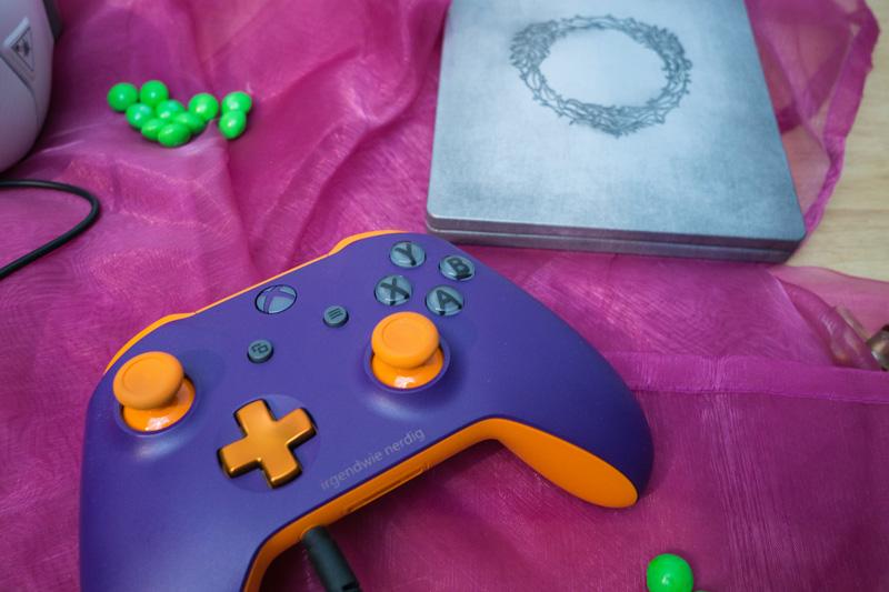 Xbox Design Controller mit Elder Scrolls Online