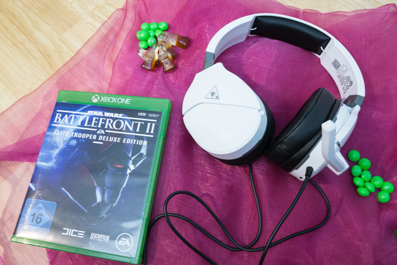 Star Wars Battlefront 2 und Turtle Beach Recon 200