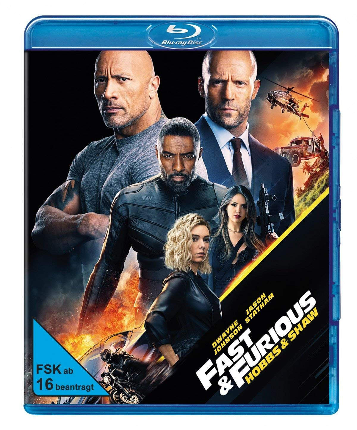 Fast and Furious Hobbs and Shaw auf Blu-Ray 4K HDR
