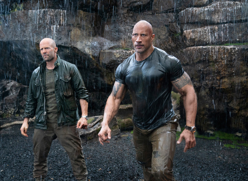 Fast and Furious Hobbs and Shaw mit Jason Statham und Dwayne Johnson