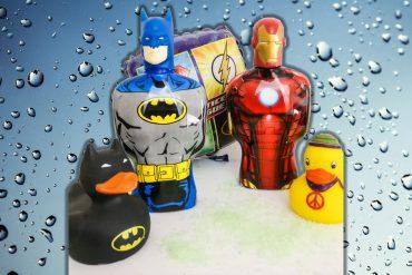 Batman und Iron Man Duschgel