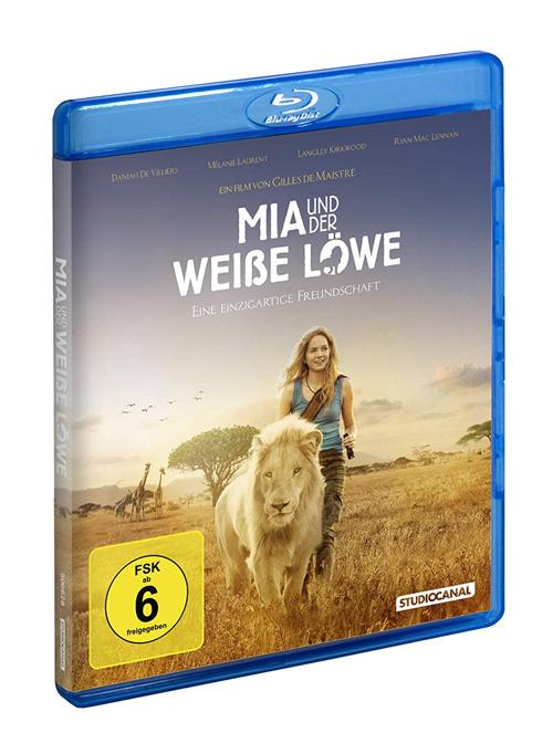 Mia und der weiße Löwe Bluray