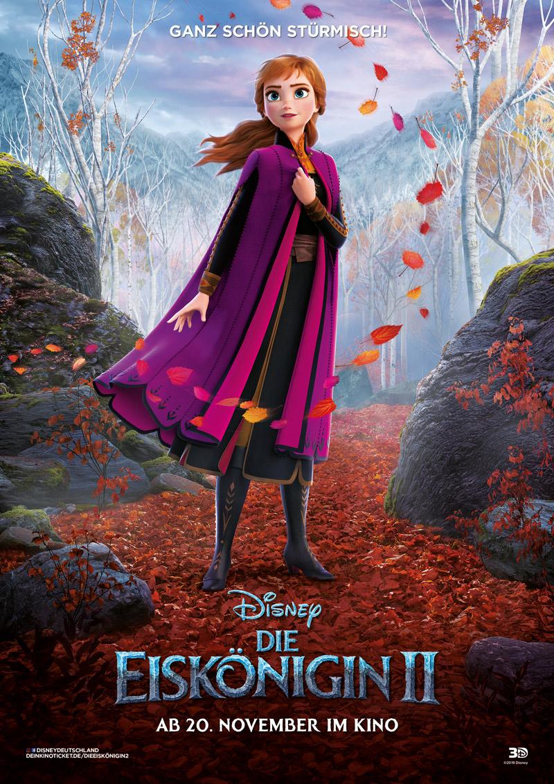 Die Eiskönigin 2 Anna Kritik Poster