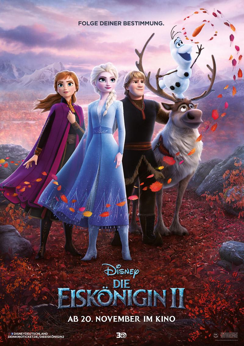 Die Eiskönigin 2 Poster Kritik