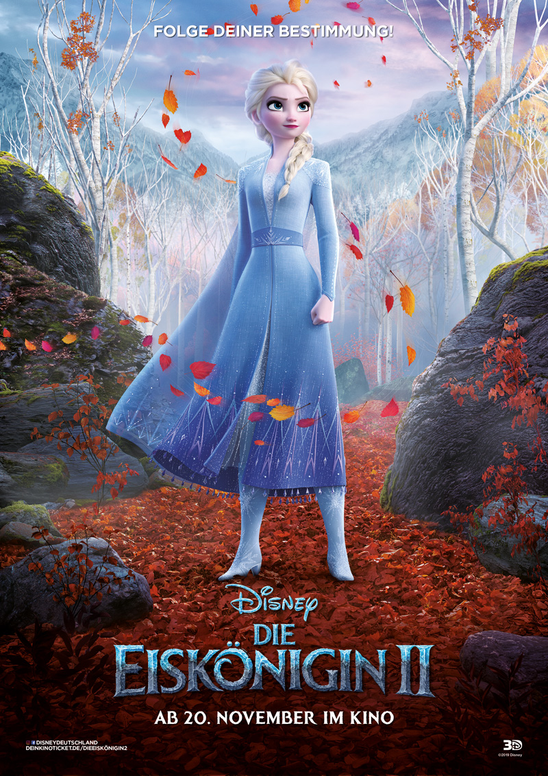 Die Eiskönigin 2 Elsa Poster Kritik