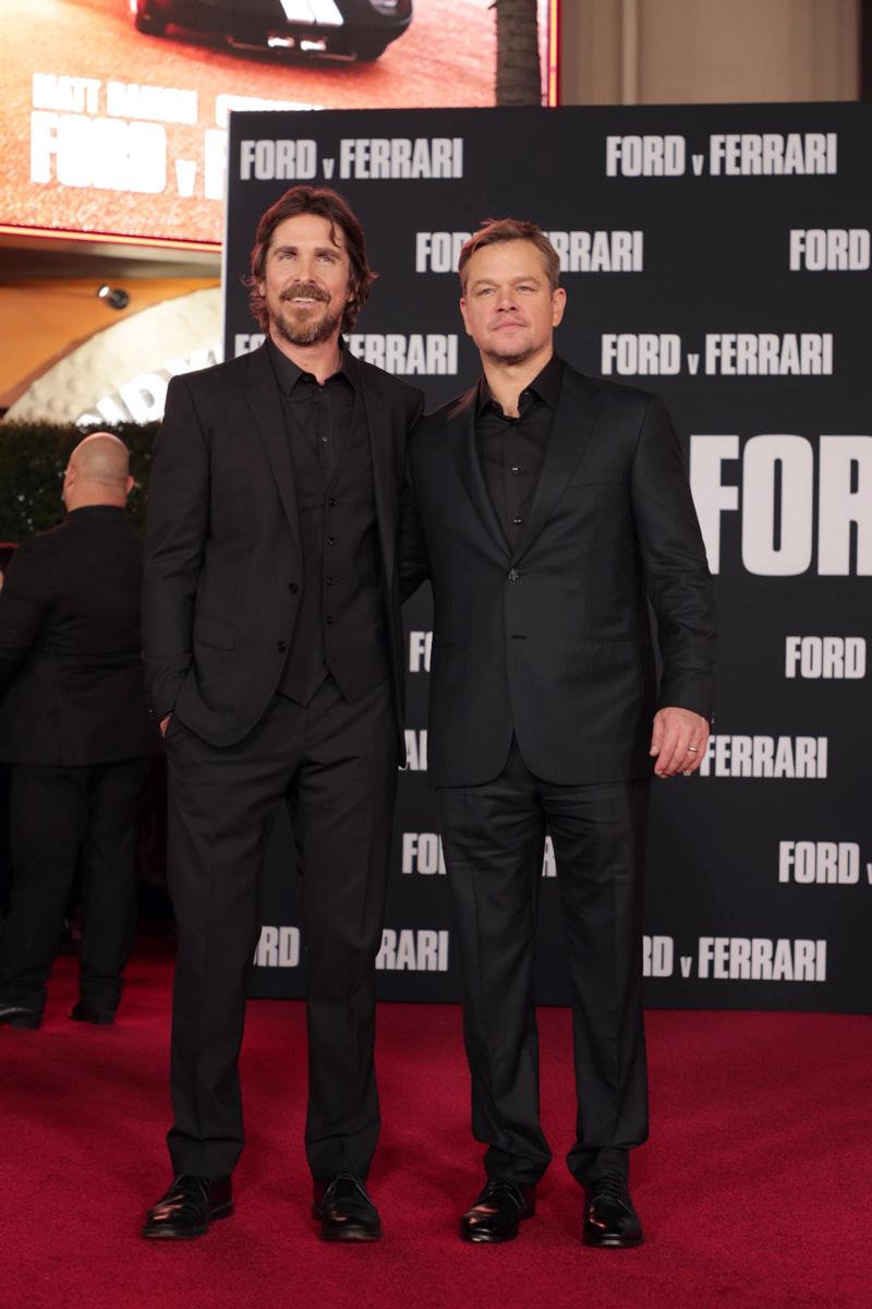 Matt Damon und Christian Bale Le Mans 66
