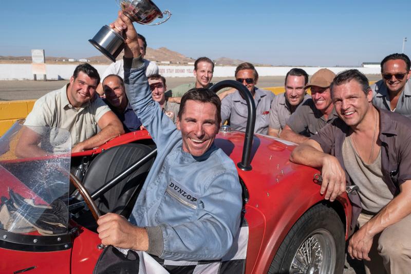 Christian Bale in Le Mans 66 Kritik