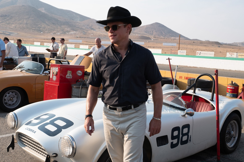 Matt Damon in Le Mans 66