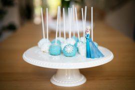 Die Eiskönigin 2 Cake Pops mit Zitronengeschmack