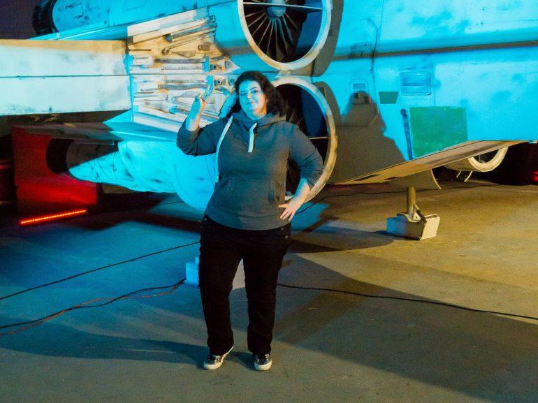 irgendwie nerdig Pia Outpost One X-Wing Star Wars