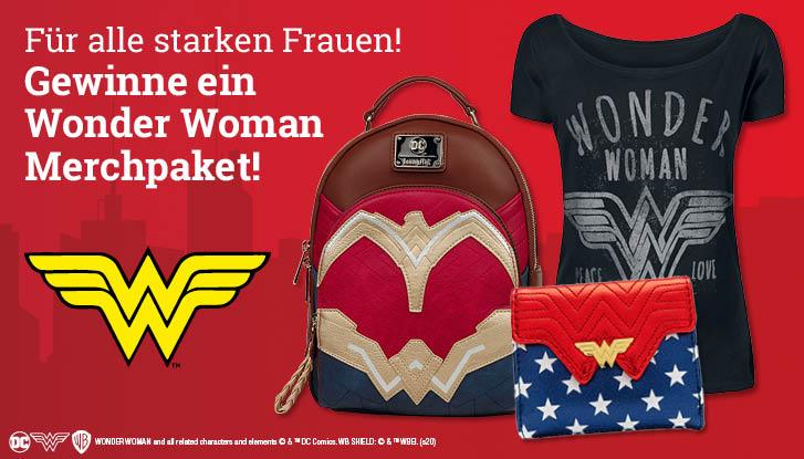 EMP Wonder Woman Merch Paket