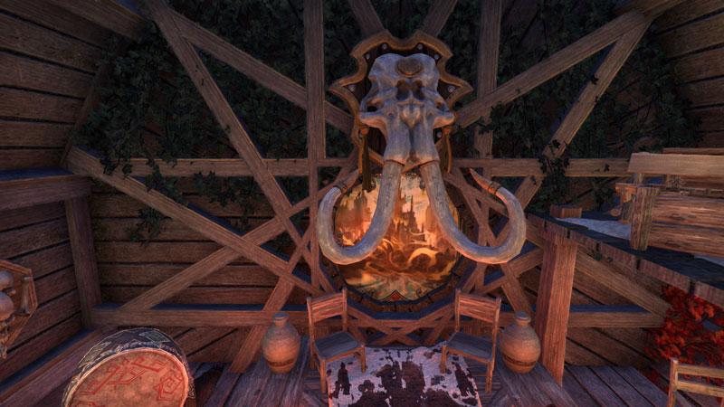The Elder Scrolls Online Housing Wettbewerb Greymoor irgendwie nerdig Stil Nord Himmelsrand