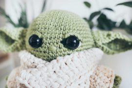 Baby Yoda aus Mandalorian als Häkelanleitung
