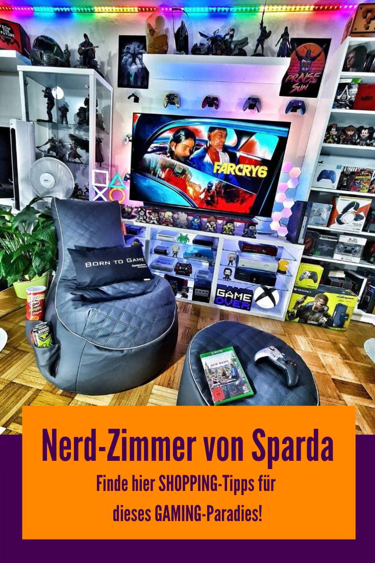 Gaming Zimmer für Nerds und Geeks mit Tipps zur Einrichtung
