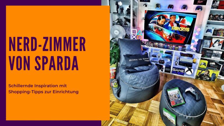 Gaming Zimmer für Nerds und Geeks Tipps und Tricks zur Einrichtung Einkauf Links Sparda