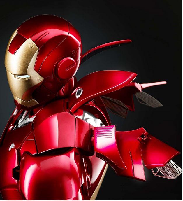 Iron Man Statue von Fanhome in fertiger Form
