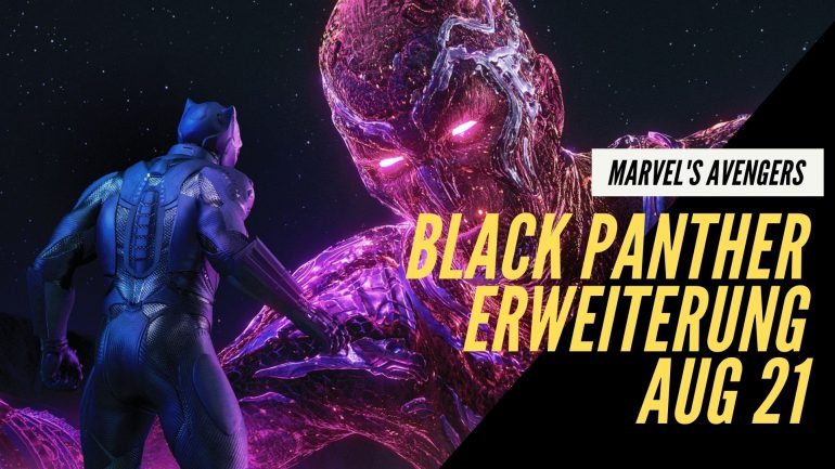 black panther marvels avengers game square enix ps4 ps5 xbox one series playstation expansion krieg um wakanda
